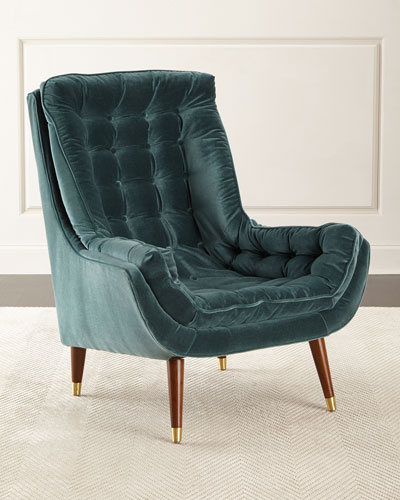 Kenneth Tufted Accent Chair
