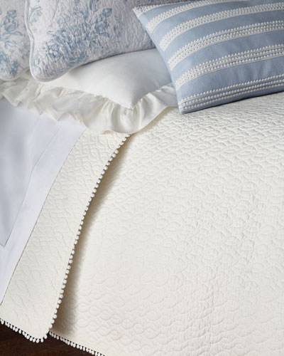 Full/Queen 3-Piece Darvy Cable Quilt Set