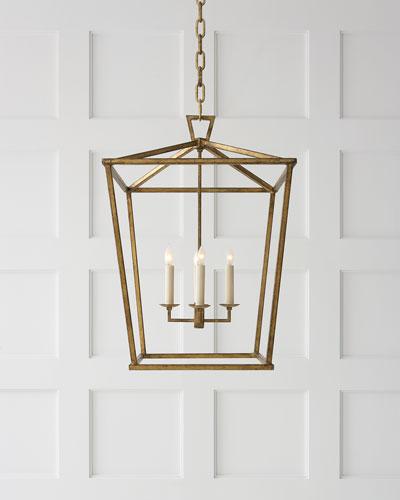 Darlana Two Tiered Ring Chandelier: Designer Lighting & Light Fixtures At Neiman Marcus