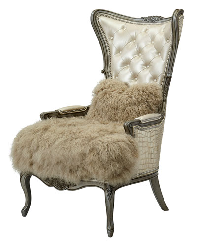 One-of-a-Kind Motley Wing Chair