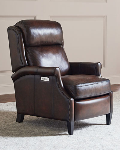 Robin Leather Powered Recliner Chair
