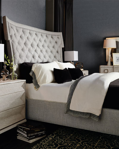 Damonica Tufted King Bed