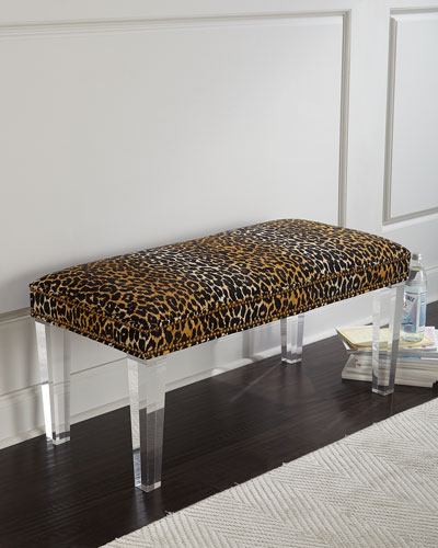 Camlo Leopard Bench