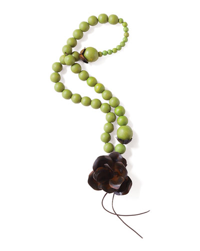 Guadalupe Blessing Beads, Green