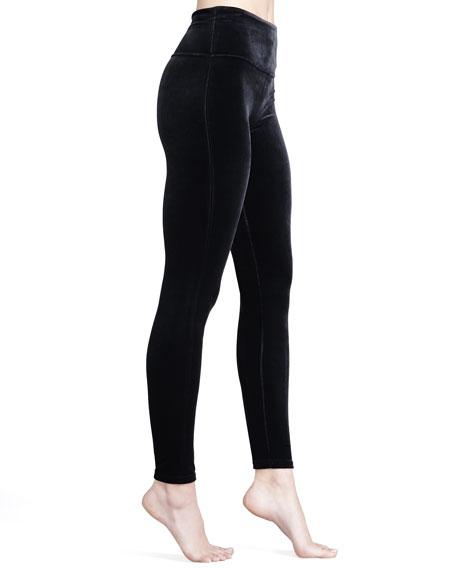 b5f1a0285ed45 Spanx Ready-to-Wow Velvet Leggings, Black