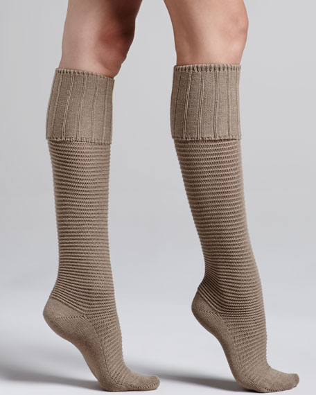 d1e8b665ffb Falke Horizontal-Rib Knee-High Socks