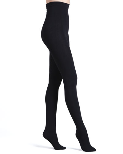 Luxe Layer Tights, Basic Black