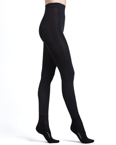 Bootights Shaper Luxe Super Opaque Tights with Ankle Sock