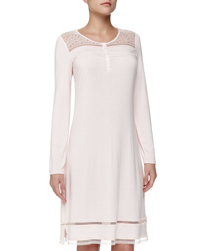 Studio Narcissus Long-Sleeve Short Gown