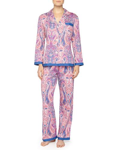 Marrakech Sateen Pajama Set
