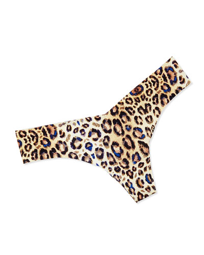Animal-Print Thong, Wildcat