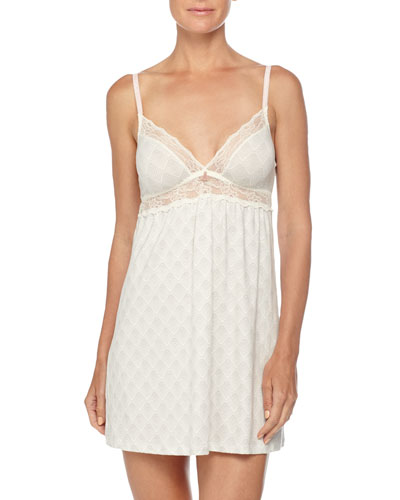 Looking Glass Lace Chemise, Classic Gray