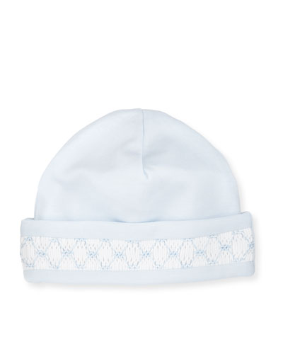 CLB Fall Pima Baby Hat, Light Blue