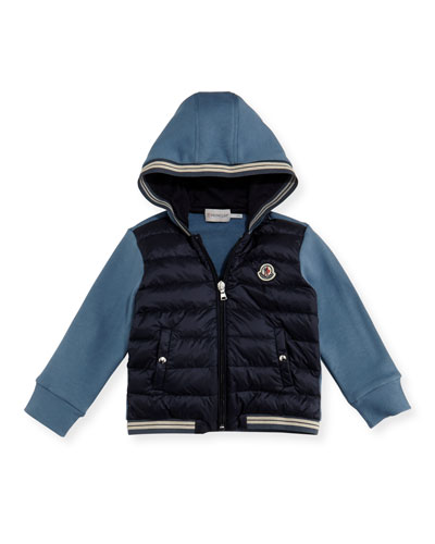 Hooded Zip-Up Cardigan, Size 12M-3T