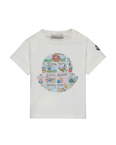 Moncler kids baby jackets more at neiman marcus for Off white moncler t shirt