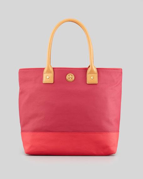 3f1bf8336468 Tory Burch Jaden Large Nylon Tote Bag