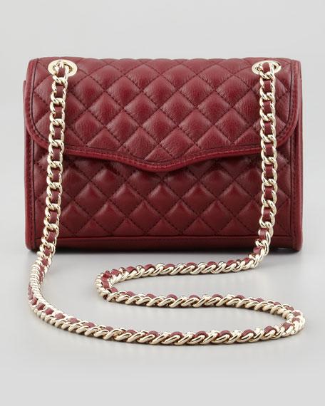 Rebecca Minkoff Quilted Affair Mini Shoulder Bag Port