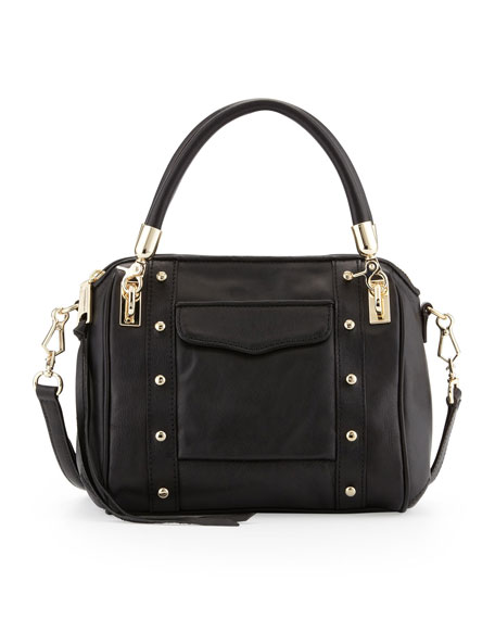 bb9b2bac2a63 Rebecca Minkoff Cupid Mini Leather Satchel Bag