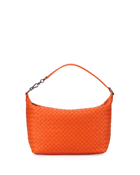Bottega Veneta Small East-West Zip Hobo Bag dbba370d49a15