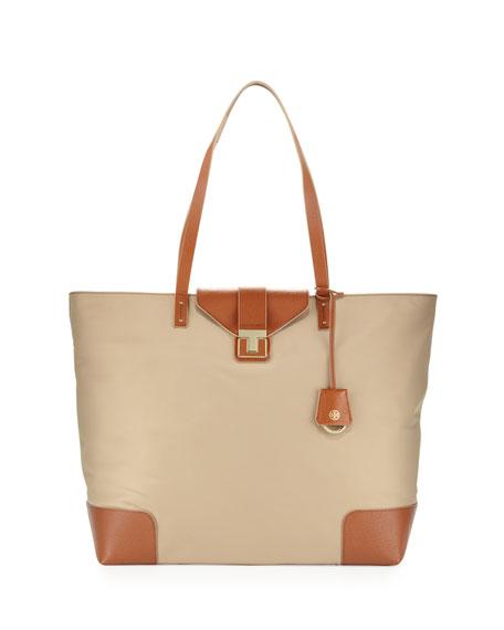 e9faa593dda5 Tory Burch Penn Zip-Top Tote Bag