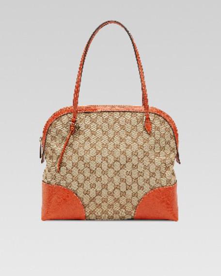 55817c3112f Gucci Medium GG Zip Dome Tote Bag