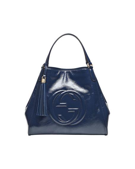 ef9d0fe1c48a4 Gucci Soho Leather Shoulder Bag
