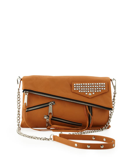 75d375d763 Rebecca Minkoff Harper Multi-Zip Crossbody Bag