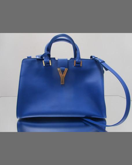 92dc92539a37 Saint Laurent Classic Cabas Y-Ligne Leather Carryall Bag