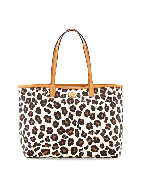 f0771acc3c3 Tory Burch Kerrington Leopard-Print Shopper Tote