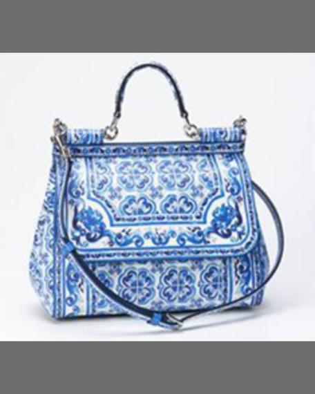 Dolce   Gabbana Medium Printed Leather Camera Bag 0886341e6c6e1
