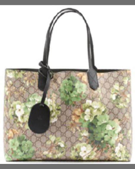 263f208dff0d Gucci GG Blooms Medium Reversible Leather Tote Bag