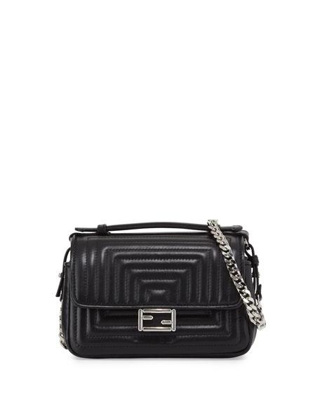 Double Baquette crossbody bag - Black Fendi XaoSfz