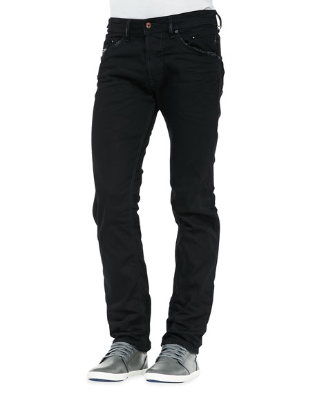 1c5cf776 Diesel Belther Black DNA Mutation Jeans