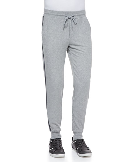 d423a89dd Moncler Sweatpants with Racing Stripes