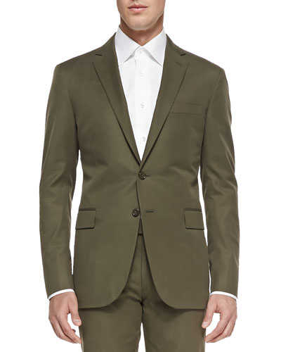 Nigel Cotton Jacket, Olive