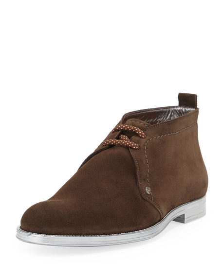 03ad3a2074f Jimmy Choo Dunraven Men s Suede Chukka Boot