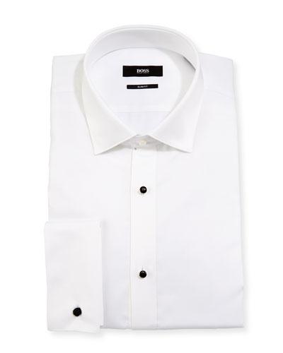 Men 39 s dress shirts at neiman marcus for Extra slim tuxedo shirt