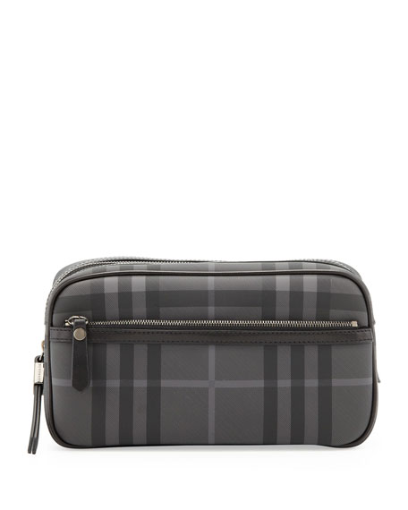 8b55a49afbf9 Burberry Men s Check Toiletry Bag