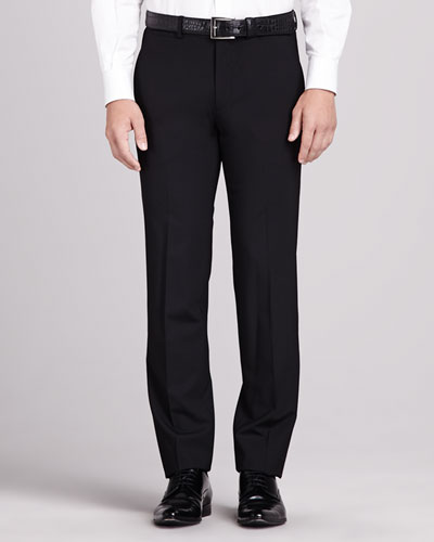Marlo New Tailor Suit Trousers, Black
