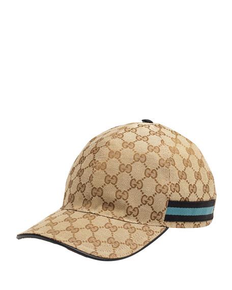 0050d6ff785 Gucci GG Canvas Baseball Hat
