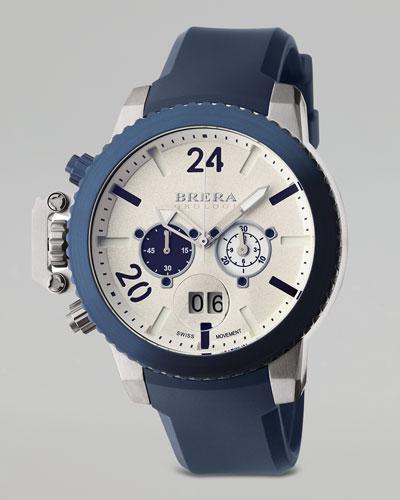 Militare II Chronograph Watch, Blue