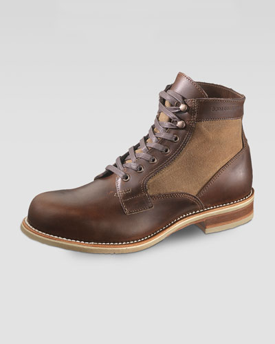 Whitepine 1000 Mile Leather/Canvas Boot