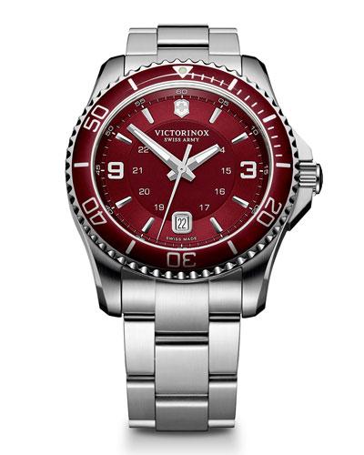 Maverick GS Red-Dial Watch
