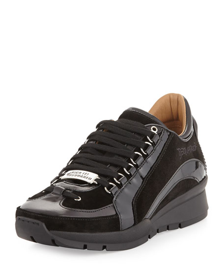 low top sneakers - Black Dsquared2 FzZxZU