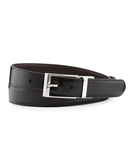 2a39cd75d6 Men's Reversible Leather Belt Black/Brown