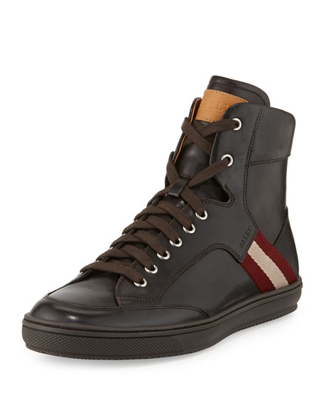 Sneaker high - dark brown O00N8vCFw