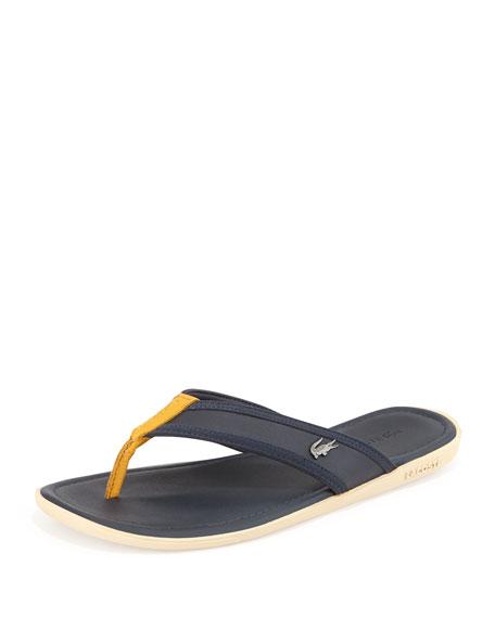 097020c180b Lacoste Carros Men s Thong Sandal