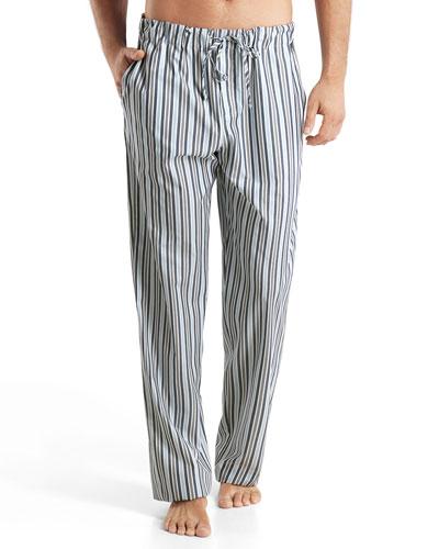 Tiago Striped Cotton Lounge Pants, Multi