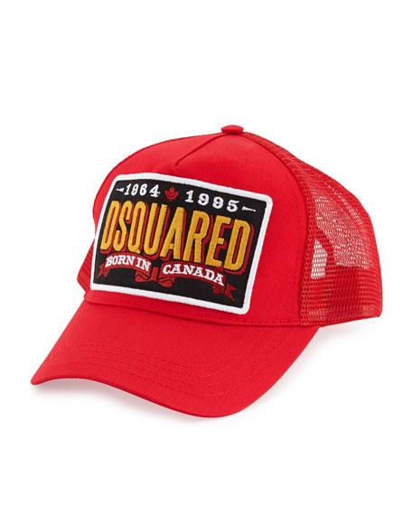 Born in Canada logo cap Dsquared2 pA4Zr