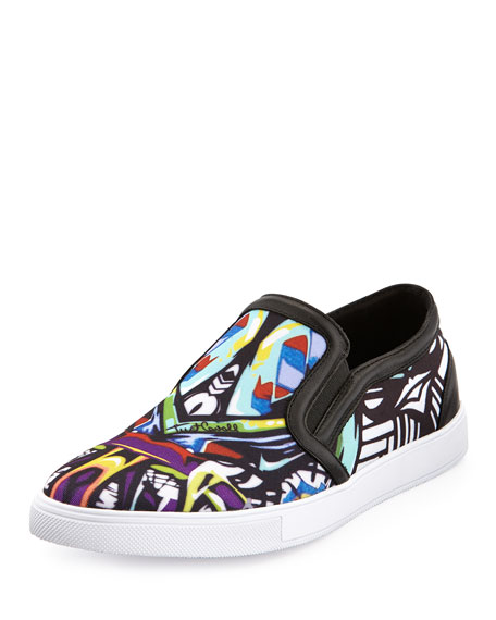 check out 3fdaa 23fa0 Miami Printed Slip-On Skate Shoe Multi